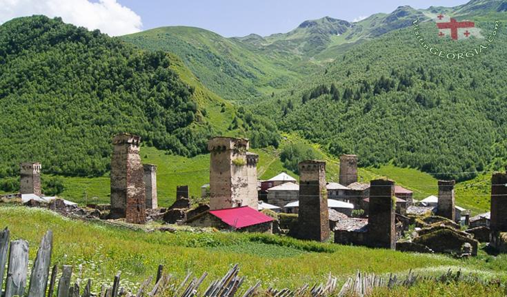 Ушгули - туры в Сванетию