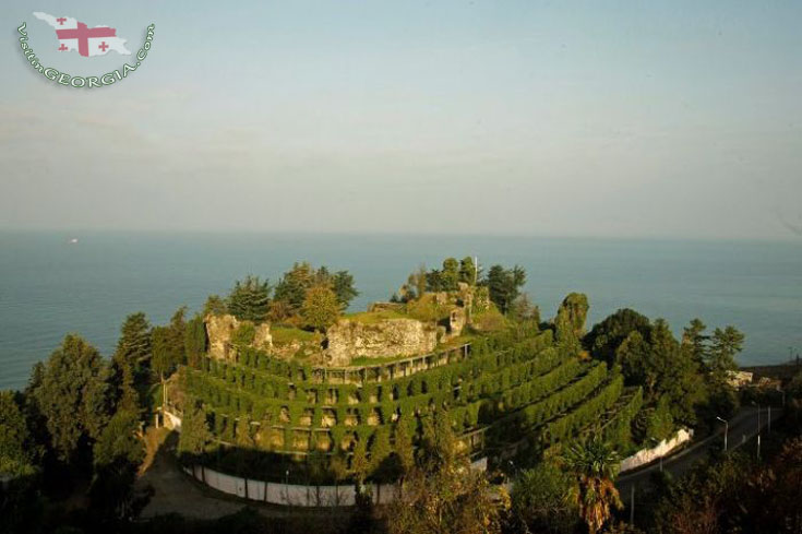 крепость петра цихисдзири