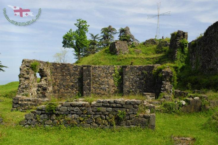 крепость цихисдзири петрацихе