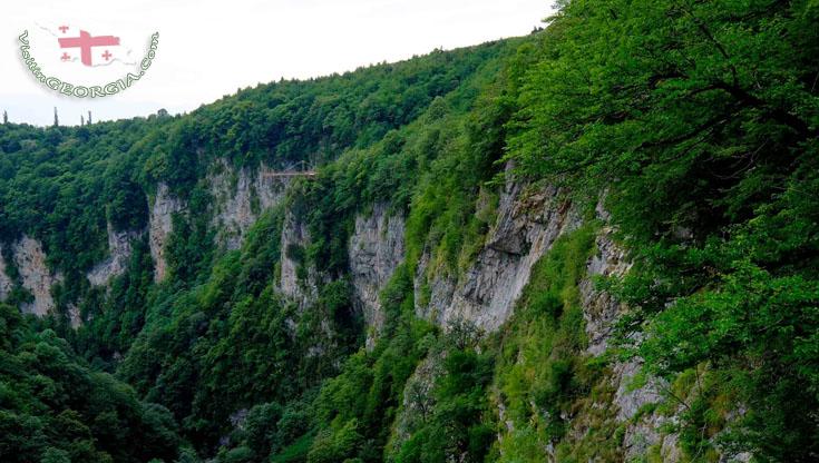 Okatse Canyon – Imereti