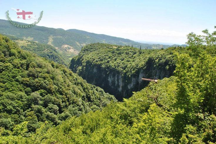 Okatse Canyon - Kutaisi