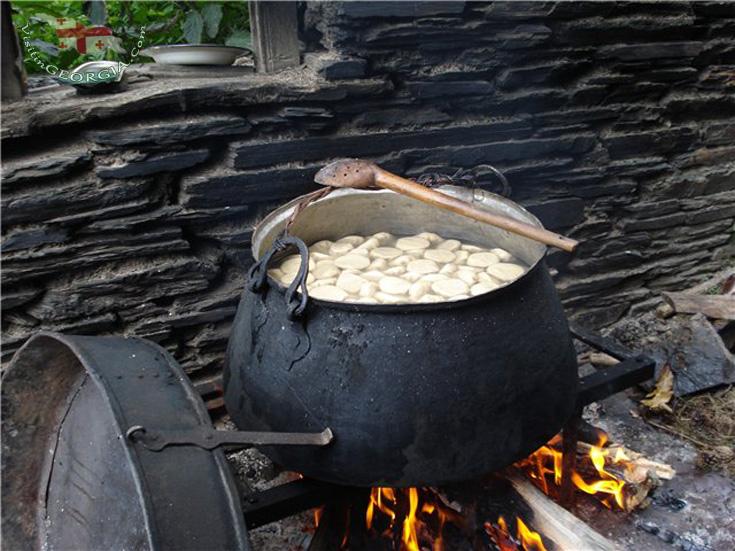Хинкали - Традиция Тушети