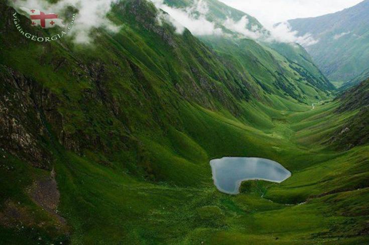 Хевсурети - Озеро Тание