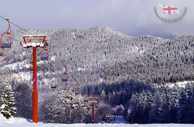Бакуриани-зимой